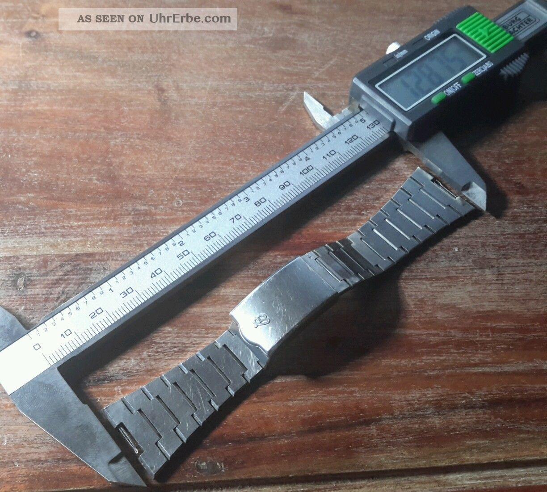 Breitling Armband Vintage 60 Iger 70 Iger Jahre Edelstahl 23,  52 Mm Armbanduhren Bild