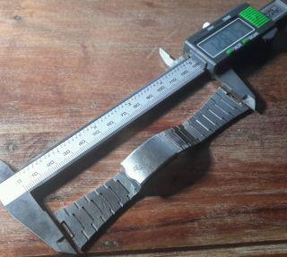Breitling Armband Vintage 60 Iger 70 Iger Jahre Edelstahl 23,  52 Mm Bild