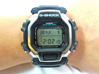 Vintage Casio G - Shock Dw 8150 Gundam Slot Maschine Techno Watch Uhr - Rare Bild