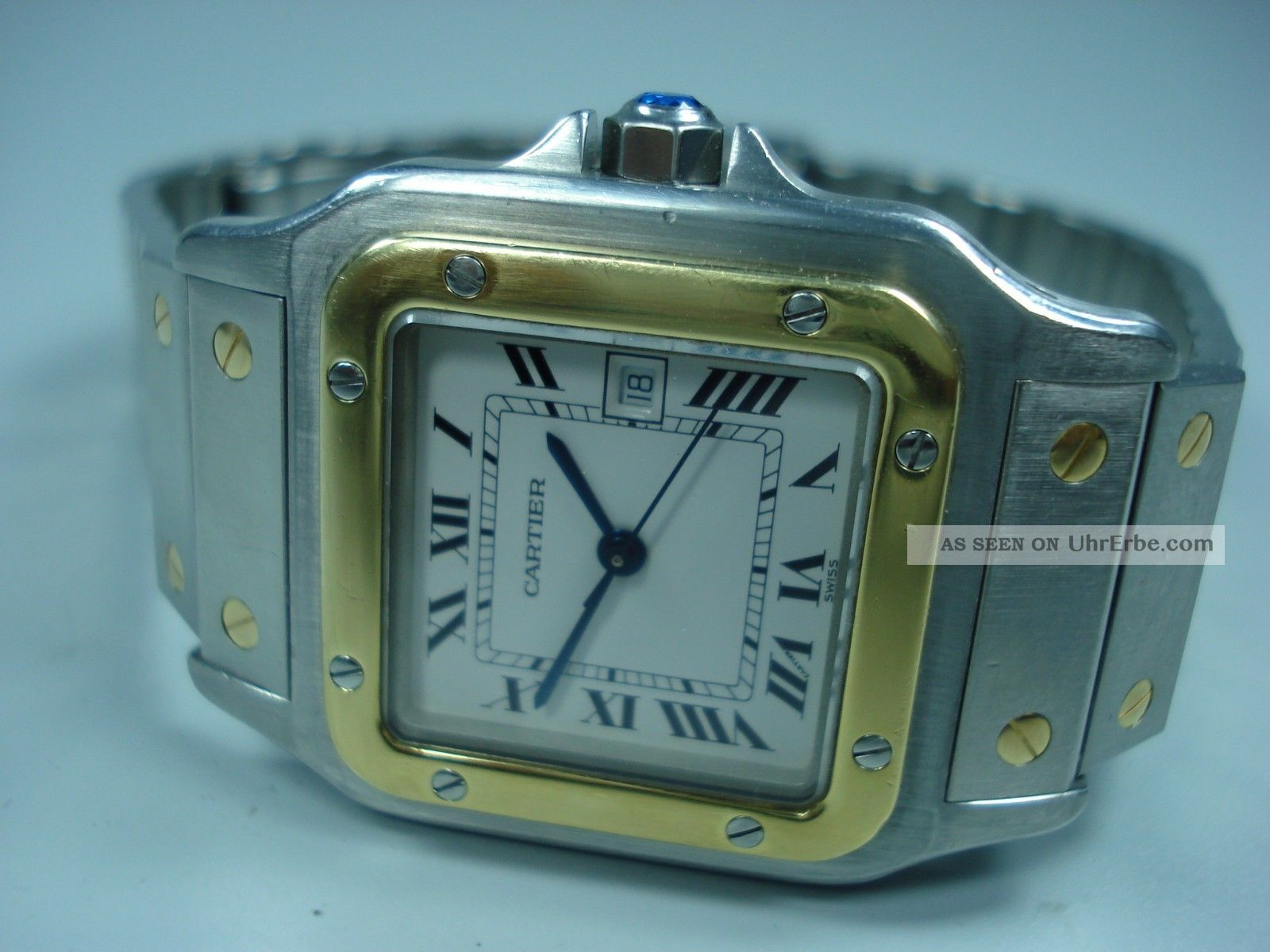 Cartier Santos Hau Automatik Armbanduhren Bild