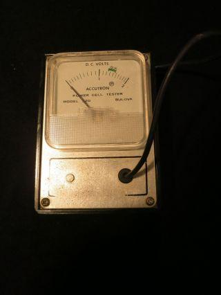RaritÄt: Bulova Accutron Power Cell Tester Model 320 Bild