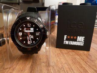 Ice Watch F Me I ' M Famous Armbanduhr Für Unisex (fm.  Si.  Bk.  B.  S.  11) Neuw Bild