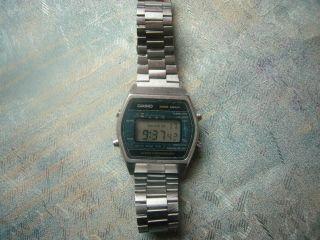 Casio 108 W 250 Marlin Water Resist 100m Stahl Vintage 80er Armbanduhr Rarität Bild