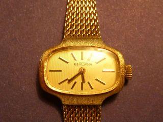 Bergana Gold 585er Damenuhr Bild