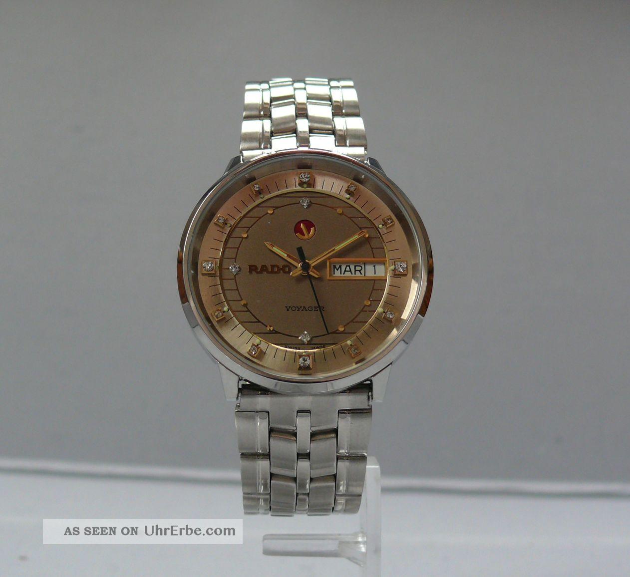 Rado Voyager Automatic 1970´er Jahre (11.  72 - 464) Armbanduhren Bild