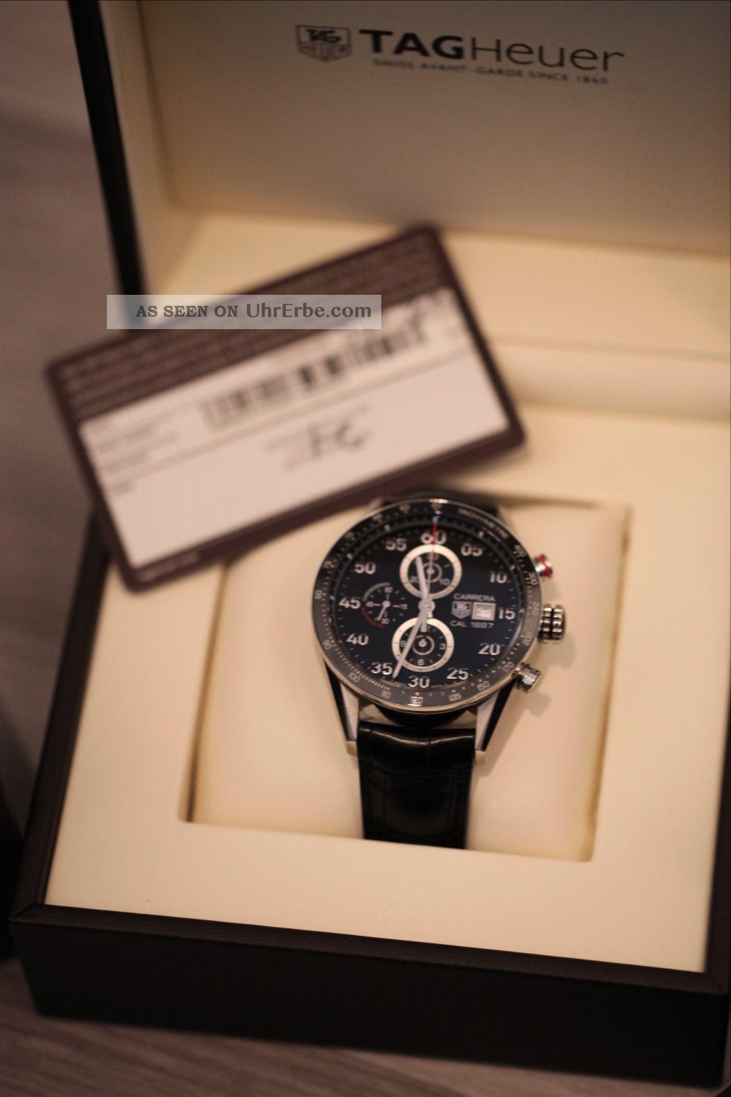 Tag Heuer Carrera Calibre 1887 Car2a10.  Fc6235 Armbanduhr Für Herren Armbanduhren Bild