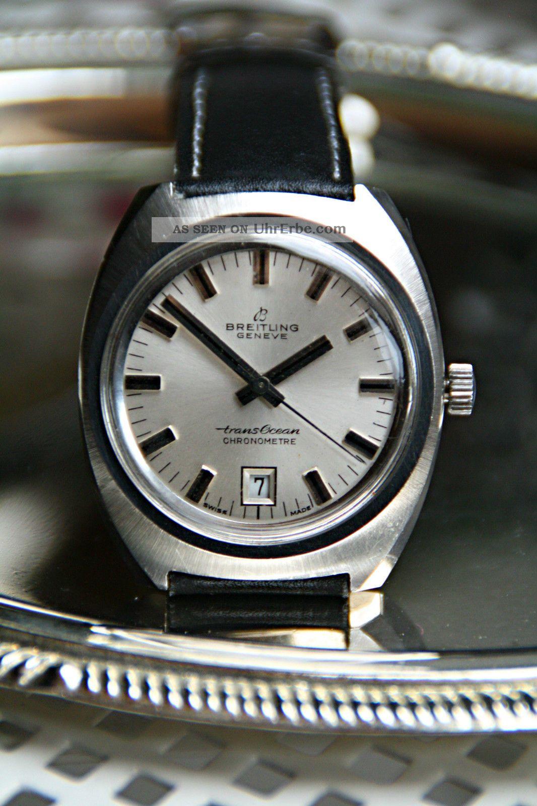 Breitling Geneve Herren Armbanduhr Armbanduhren Bild