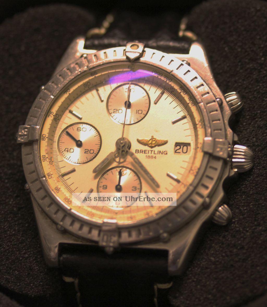 Breitling Chronomat Ref Nr 13050 In Limitierter Auflage Armbanduhren Bild