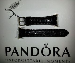 Pandora Imagine Lederband Ersatzband Schwarz 882011bk Bild