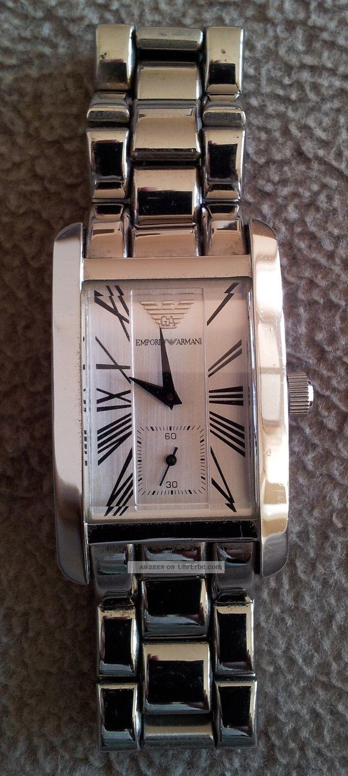 Armani Damenuhr Edelstahl Modell: Ar - 0146 Fast Wie Armbanduhren Bild