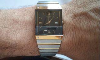Rado Herren Uhr Modell Diastar Quartz 129.  0195.  3 Watch Bild