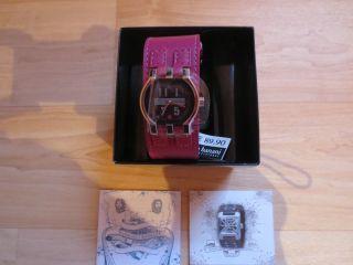 Neue Damen Armbanduhr Bruno Banani Armband Bordeaux - Mit Geschenkverp. Bild