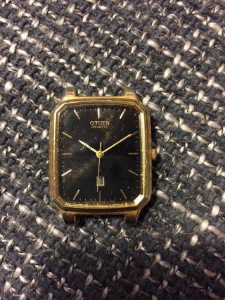 Citizen Quartz Uhr Antik Gold Edel Antik Sammlerstück Bild