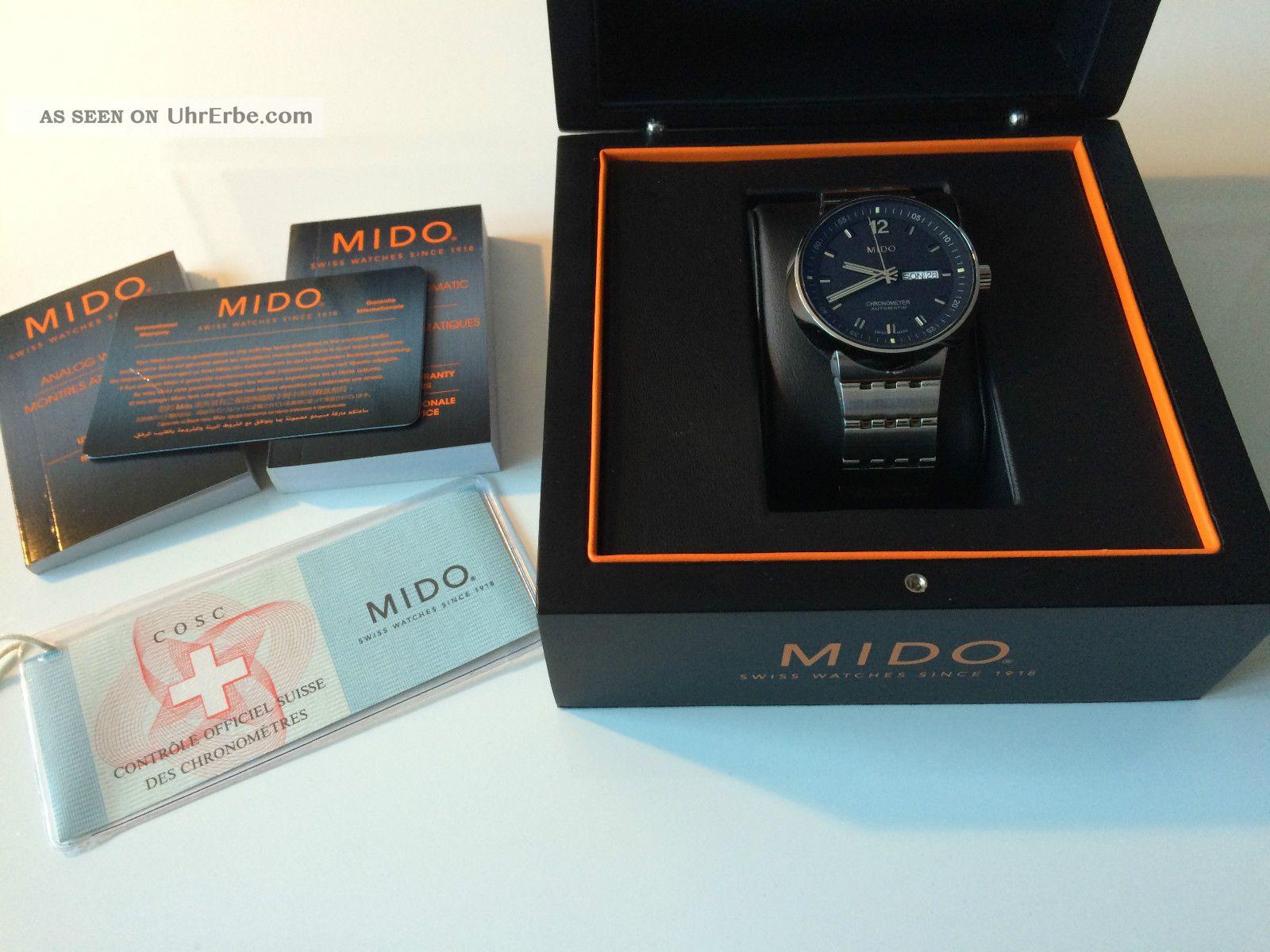 Mido All Dial Chronometer,  Durchmesser 42mm Armbanduhren Bild