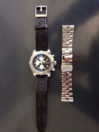 Breitling Avenger Mit 2 Armbänder Bild