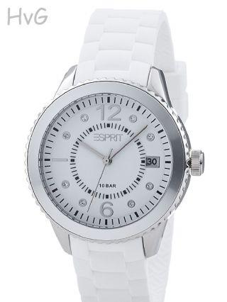 Angebot Esprit Uhr Marin 68 - Weiß - Silber (von Privat) Bild