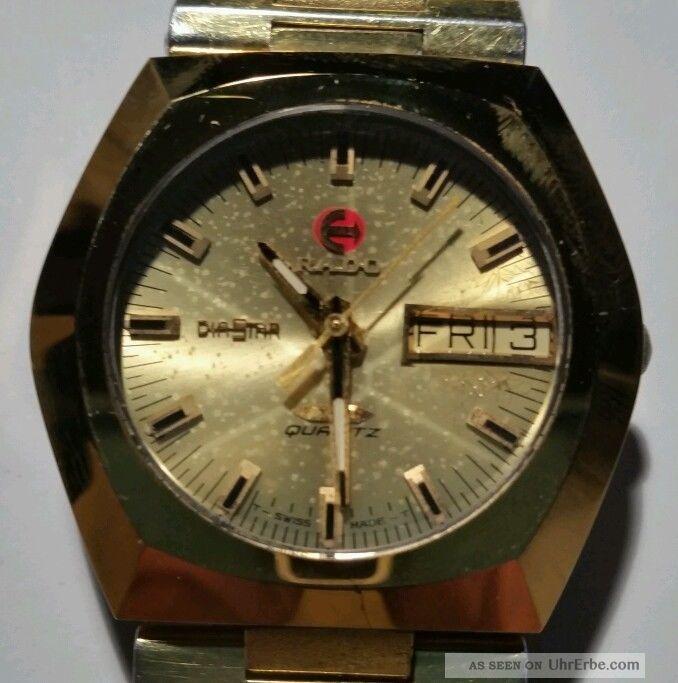Rado Diastar Herren Armbanduhr Armbanduhren Bild