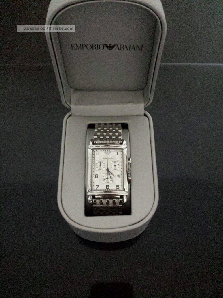 Emporio Armani Herrenuhr Ar0294 Armbanduhren Bild