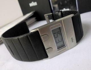 Braun Armbanduhr Digital Dw 30 - Klassiker Der 70er Jahre,  Dieter Rams Bn0076 Bild
