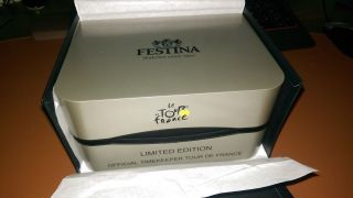 Festina Herrenuhr Uhr Tour Chrono Bike Limited Edition 2014 F16776/1 Bild