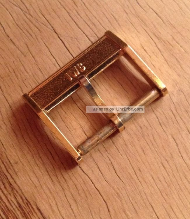Iwc Dornschließe 19mm Breit Armbanduhren Bild