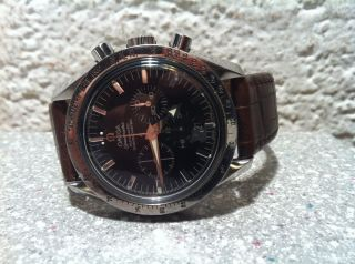 Armbanduhr Omega Sipeedmaster Chronograph Bild