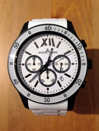 Orig.  Jacques Lemans Rome Sports - 44 Mm Chronograph - Unisex - Uvp 149,  - - Top Bild