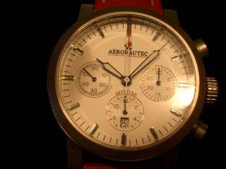 Aeronautec Skydiver,  Automatik Chrono,  Titan Bild