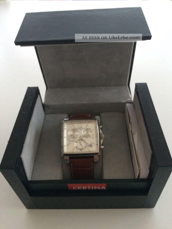 Certina Square Armbanduhren Bild