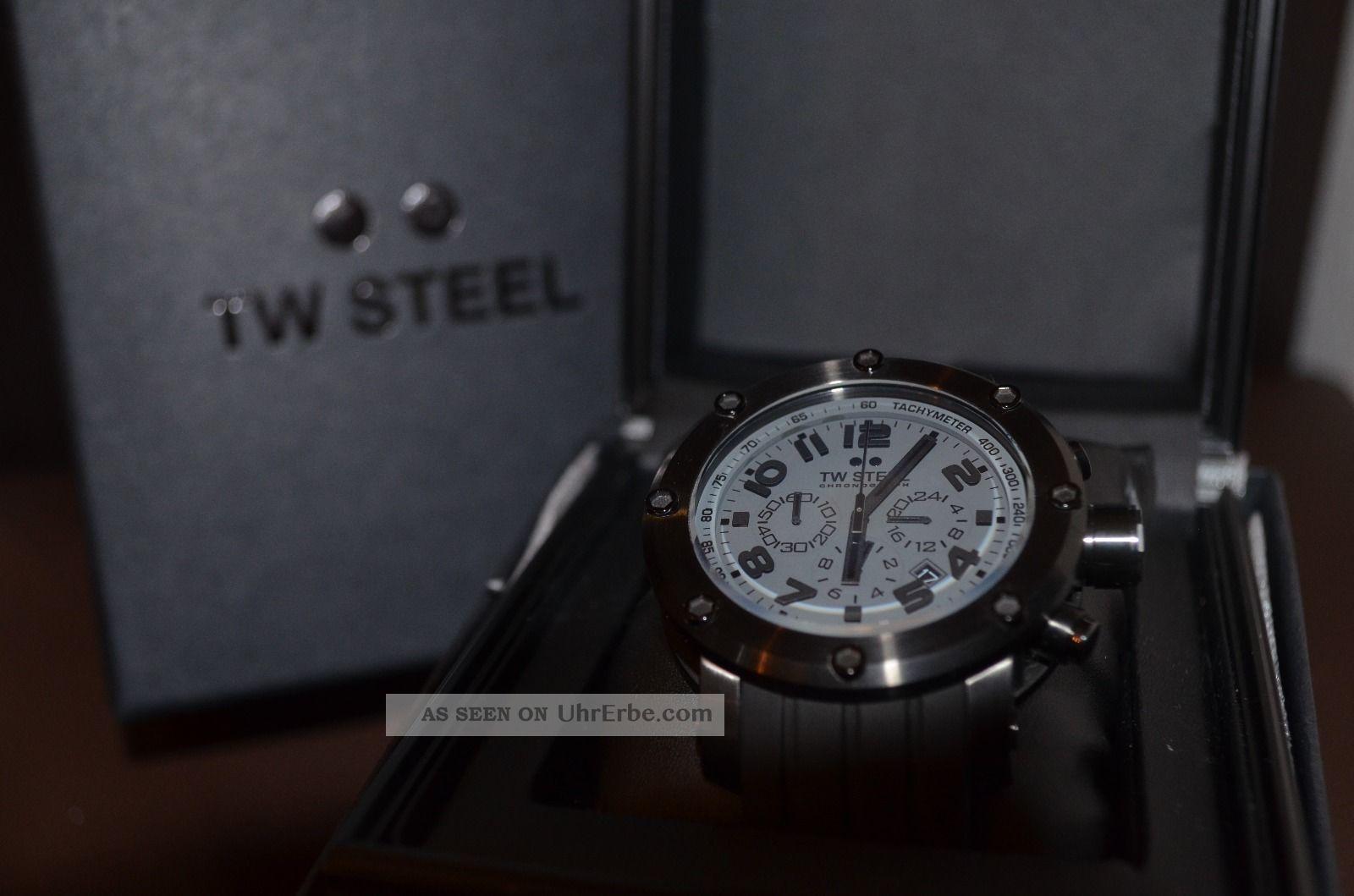 Tw Steel Tw - 128 Kautschuck Armbanduhren Bild