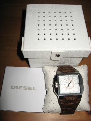 Diesel Herrenuhr Armbanduhr Dz 1267 Only The Brave Neuw Ungetragen Inkl Box Bild