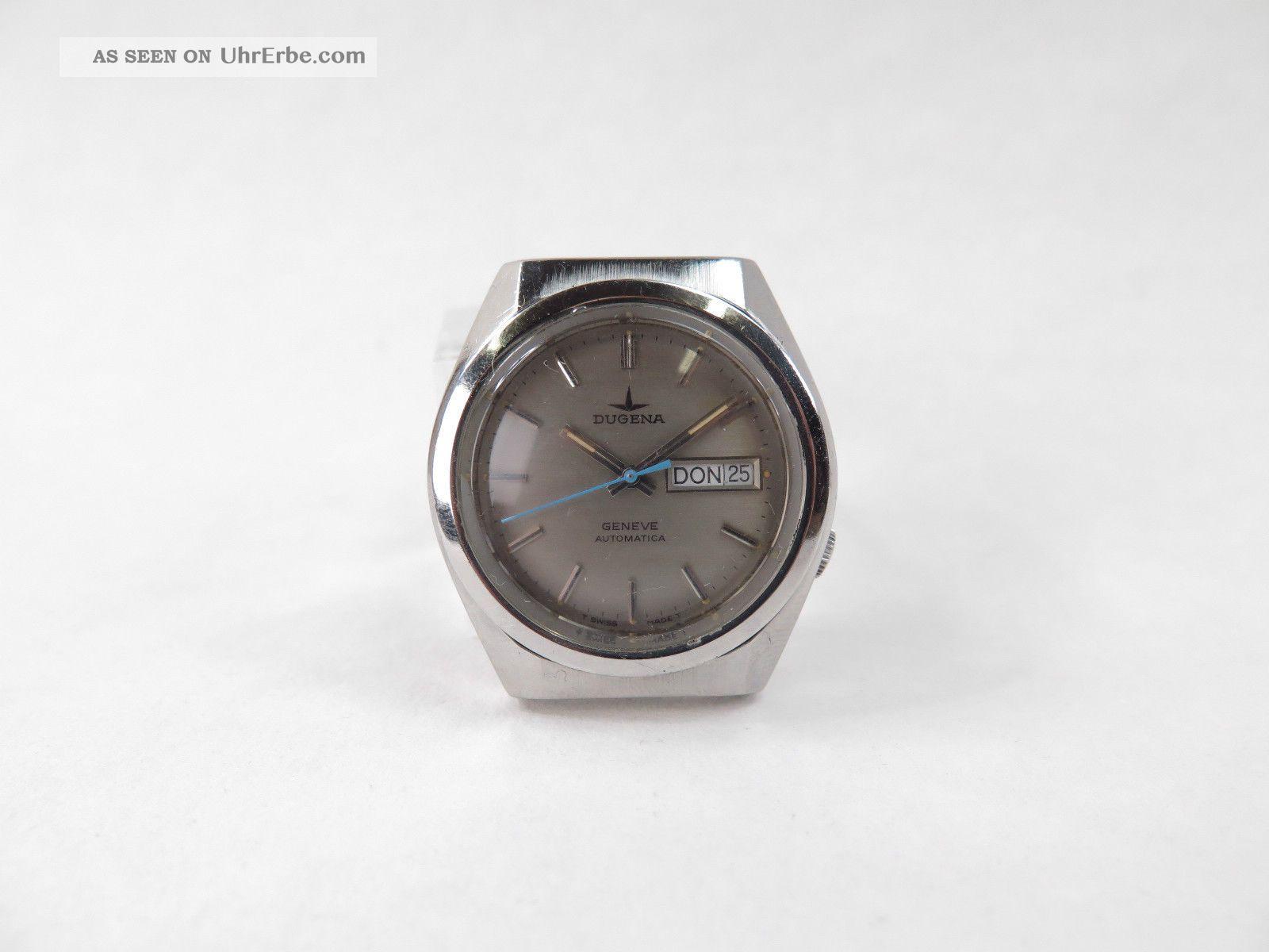 Dugena Eta 2789 Geneve Automatic Armbanduhr Armbanduhren Bild