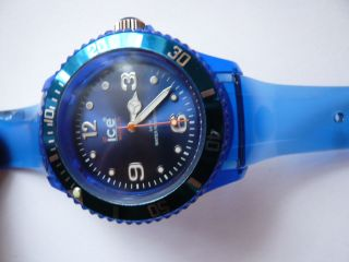 Armbanduhr Unisex Ice - Watch,  Blau Bild
