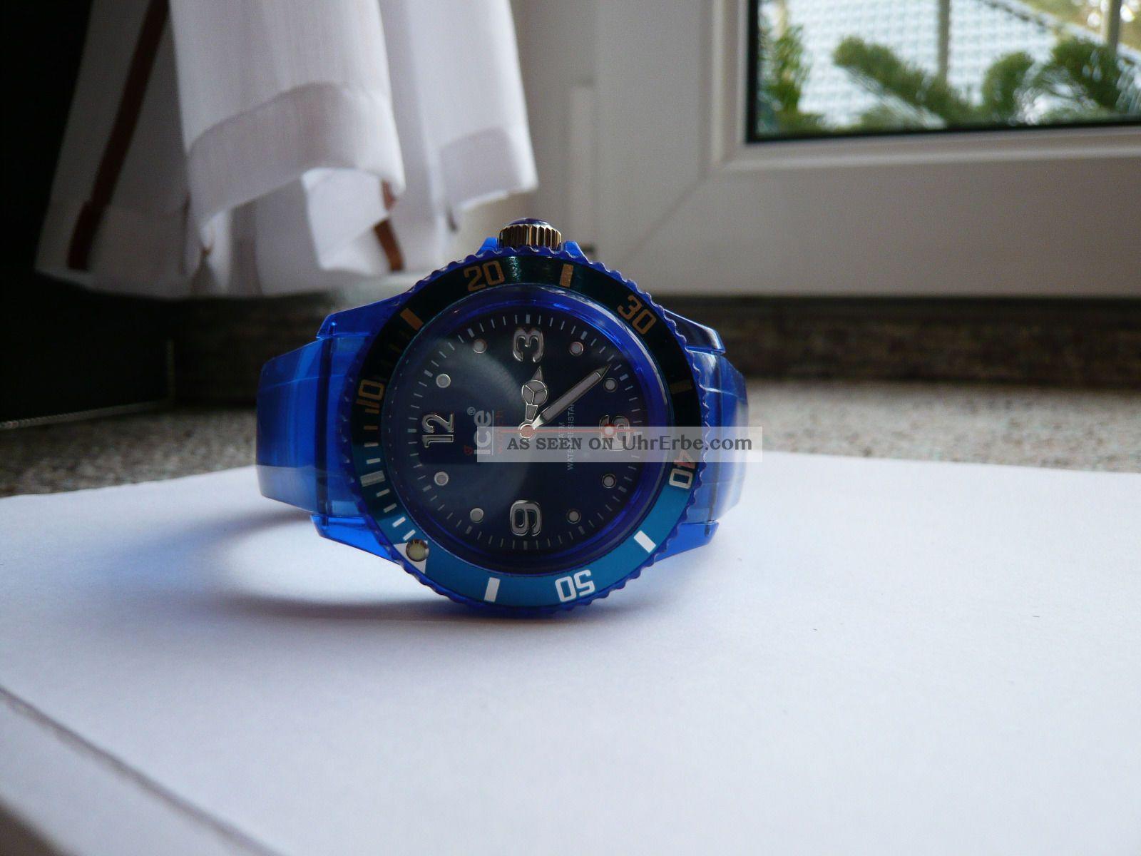 armbanduhr unisex ice watch blau. Black Bedroom Furniture Sets. Home Design Ideas