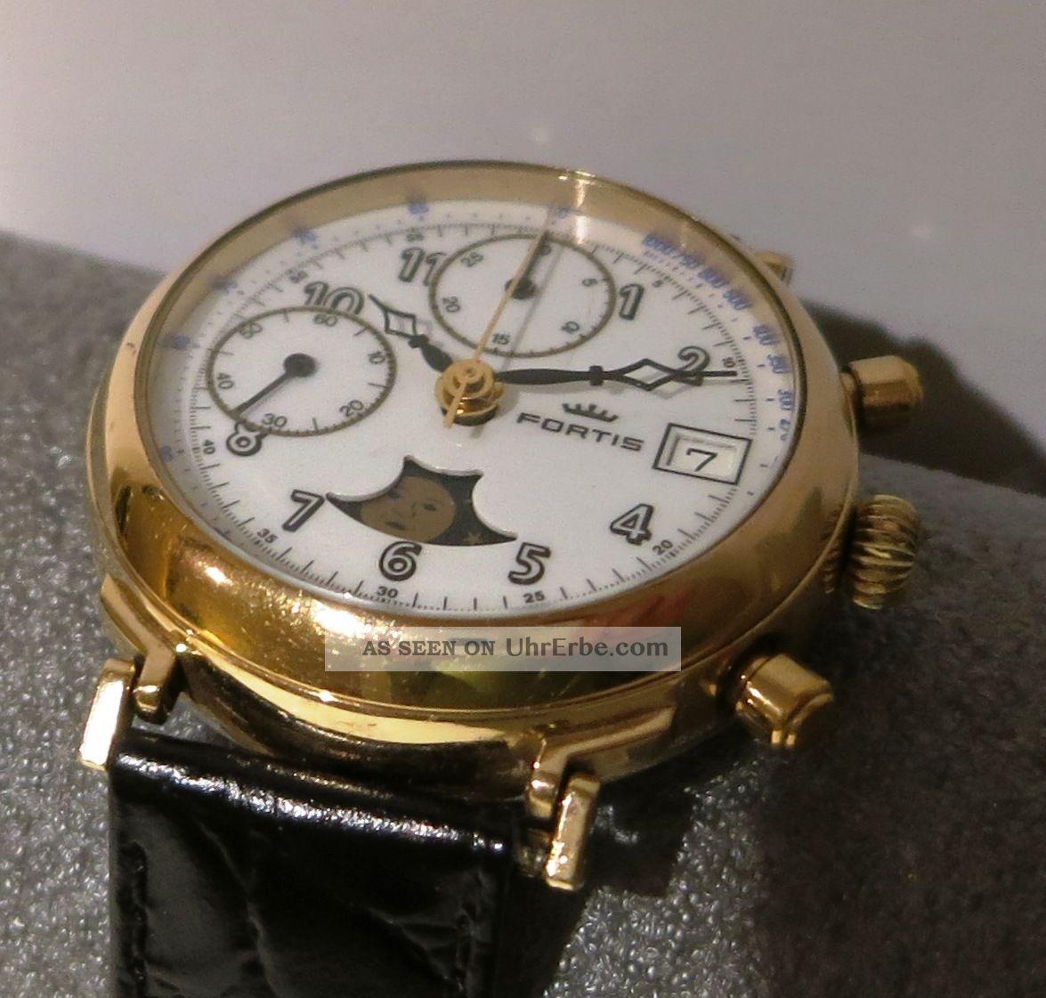 Fortis Chronograph Valjoux 7768 Mondphase