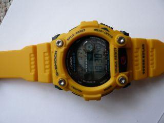 Herren - Armbanduhr Casio G - Shock,  Funk - Solar - Kollektion Digital Quarz,  Gelb Bild