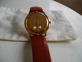 Girard Perregaux 18k Gold Uhr Um 1950,  Extrem Selten Handaufzug Vintage Bild