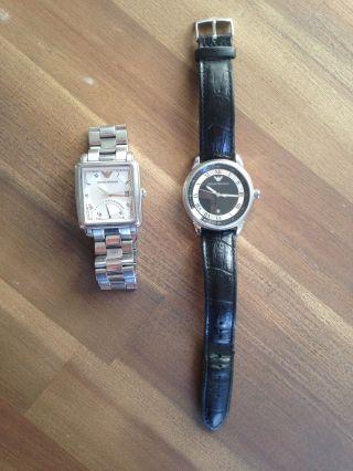 2x Originale Emporio Armani Armbanduhr Für Herren Bild