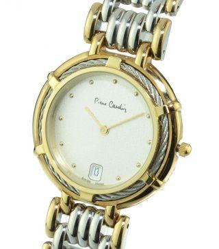 Pierre Cardin Chromachron Oc2 - Mro Damen Uhr,  Kabel,  Swiss Made,  Ungetragen & Ovp Bild