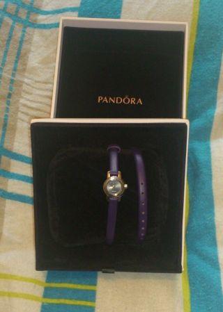 Ovp Pandora Feine Damen Uhr Mit Kleinem Diamanten Bild