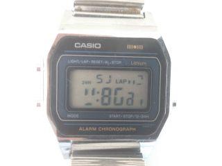 Casio A - 151 Armbanduhr Digital Lcd Uhr Alarm Chronograph Rar Selten Bild