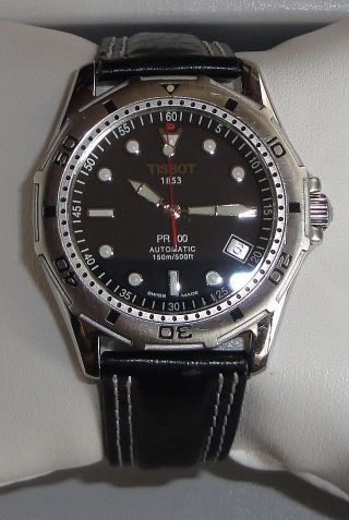 Herren - Armbanduhr Tissot Automatic - Pr 100 - In Edelstahl Bild