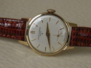Baume & Mercier 750er Gold Damenuhr Bild