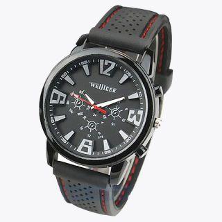 Armbanduhren Herren Militärversuchsflieger - Armee - Art - Silikon - Sport - Armbanduhr Bild