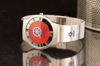Werbeuhr,  Fj1300,  Xj 900,  Xj 600,  Fazer Yamaha Rot Bild