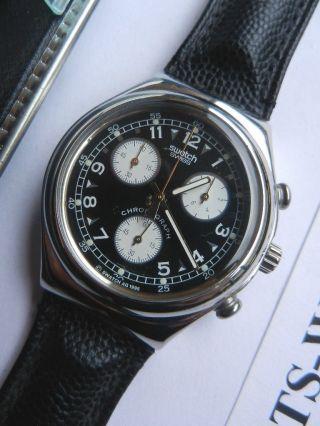 Swatch,  Irony Chrono,  Ycs101 Vernissage,  Neu/new Bild