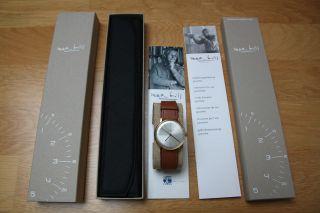 Junghans Herren - Armbanduhr Max Bill Analog Handaufzug 027/5703.  00 / Wie Bild