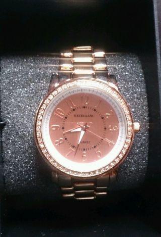 Rose Gold Uhr Bild