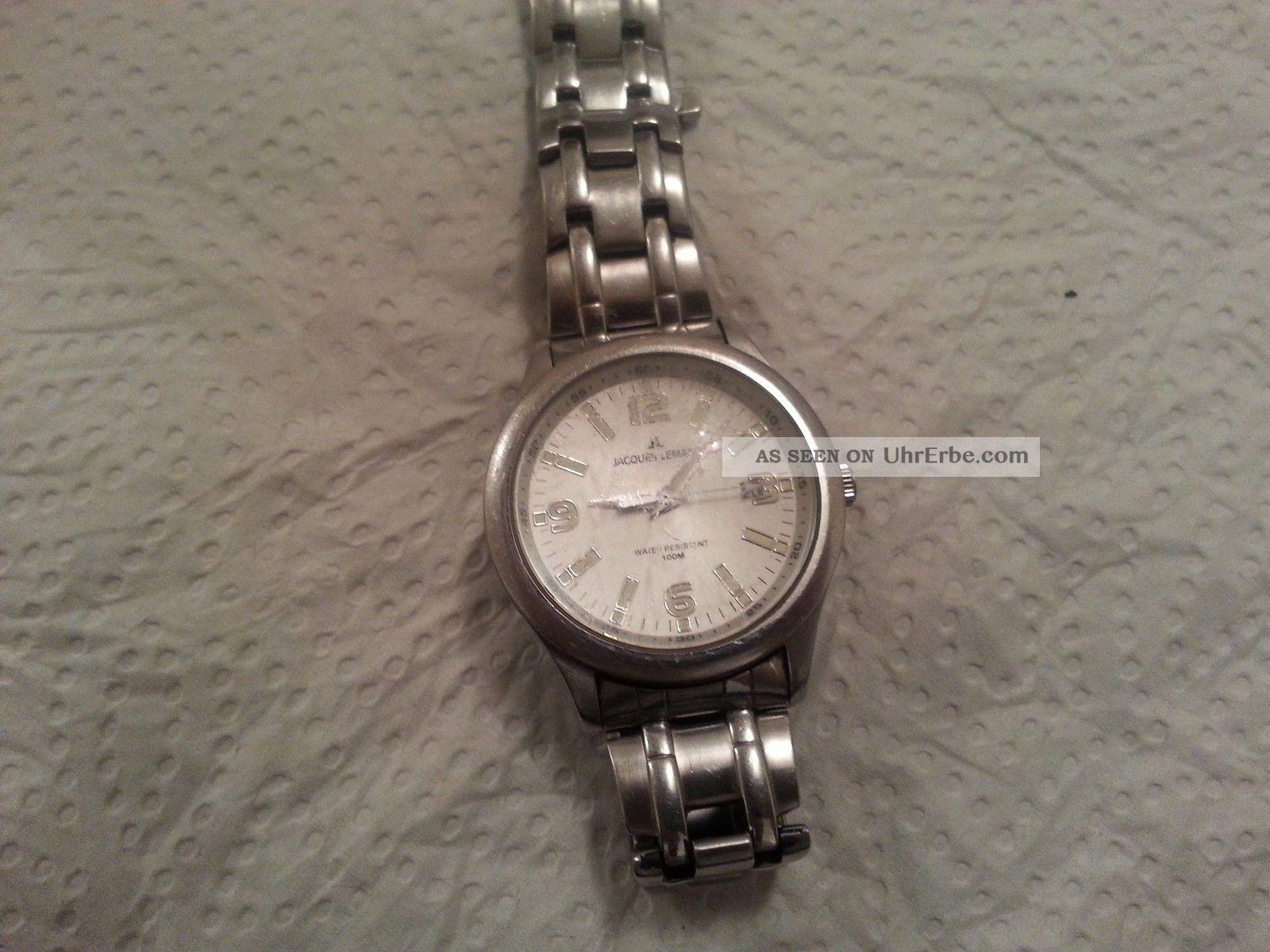 Herren Arbanduhr Jacques Lemans Armbanduhren Bild