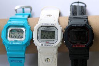 3x Casio Uhren Serie 5600 Bild